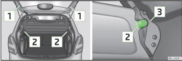 skoda fabia tablette du coffre bagages coffre bagages si ges et rangements. Black Bedroom Furniture Sets. Home Design Ideas