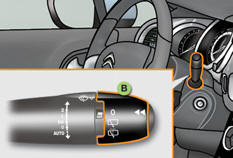 citro n c3 commandes manuelles commandes d essuie vitre visibilit manuel du conducteur. Black Bedroom Furniture Sets. Home Design Ideas